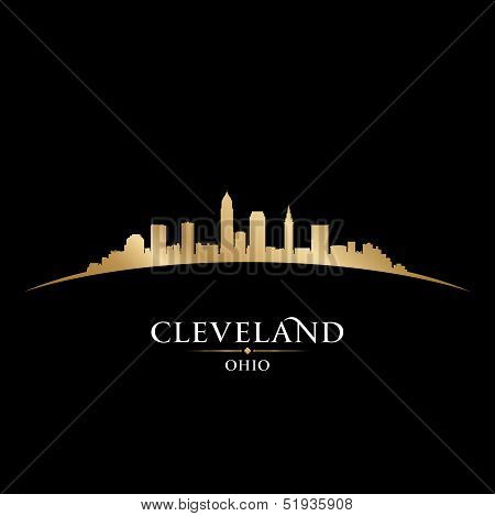 Cleveland Ohio City Skyline