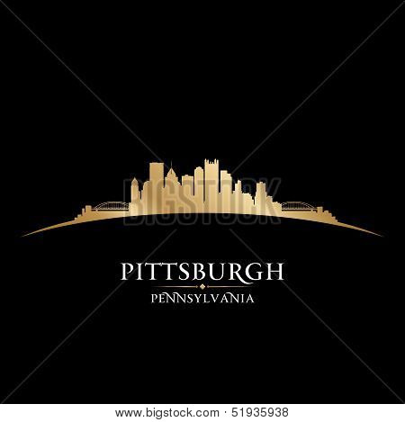 Pittsburgh Pennsylvania City Skyline