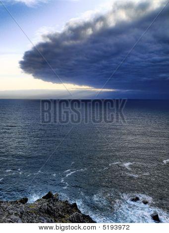 Ireland Seashore At Dingle Peninsula