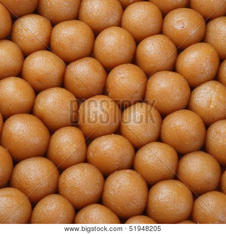 Delicious, fresh and unique sweet jamuns ground, most famous in Pakistani and Indian peoples poster