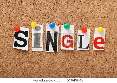 The word Single