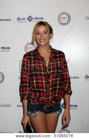 LOS ANGELES - OCT 3:  Sarah Dumont at the