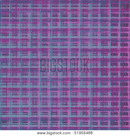 spray abstract graffiti elements in purple pink blue poster
