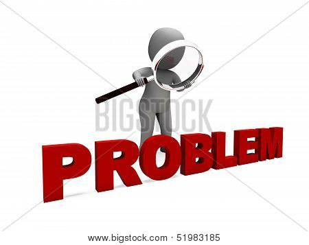 Problem Character Means Difficulty Dispute Or Trouble