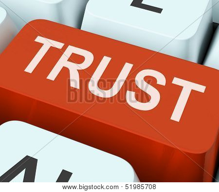 Trust Key Means Believe Or Faith.