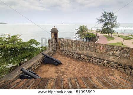 Fortress at Dominican Republic