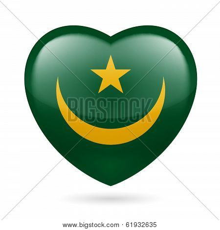 Heart icon of Mauritania