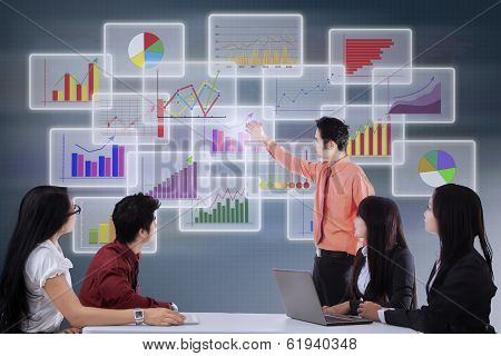 Manager Presenting Business Chart