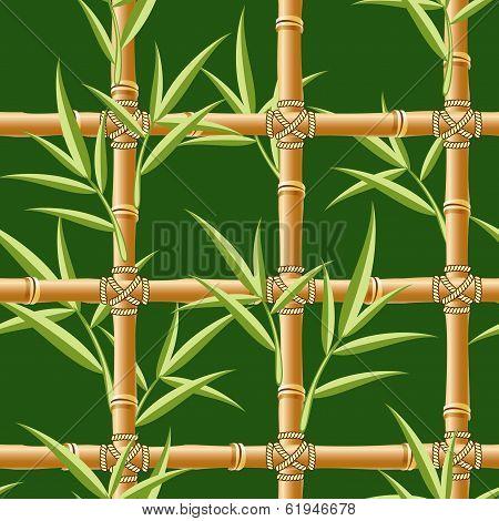 green bamboo seamless
