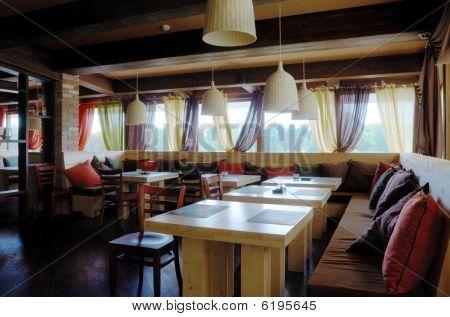 Restaurant Interior In Hdri
