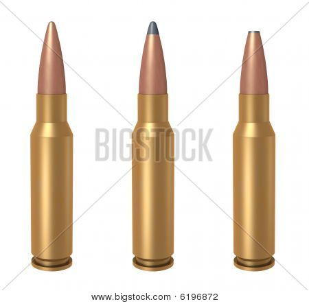 7.62mm Bullet