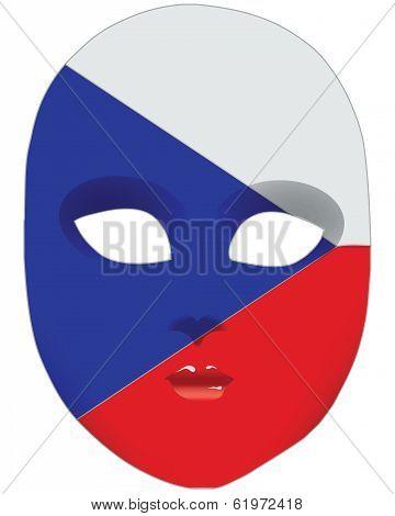 Czech Republic Mask