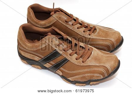 Pair of male shoes