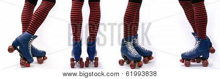 Roller Skates Steps