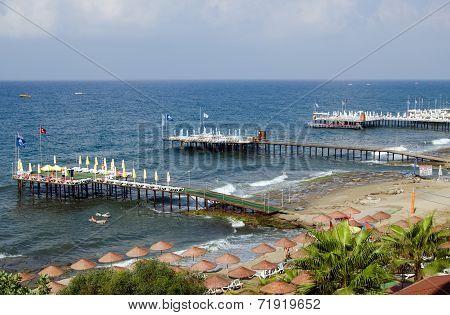 Antalya Coastline, Turkey