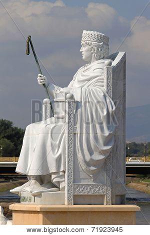 Justinian I Statue