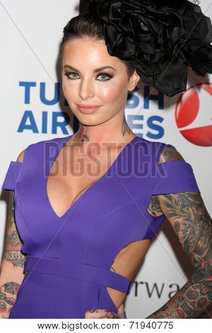 LOS ANGELES - SEP 13:  Christy Mack at the 5th Annual Face Forward Gala at Biltmore Hotel on September 13, 2014 in Los Angeles, CA