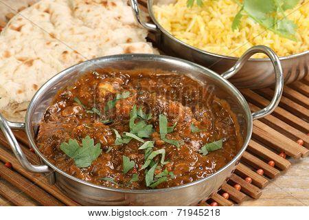 Chicken Saag Masala
