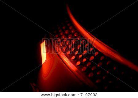 dj turntable stroboscope