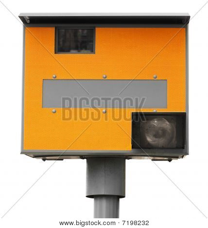 Yellow Traffic Speed Camera