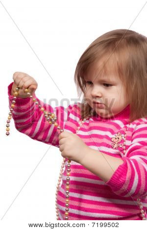 The Little Child With Beads