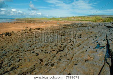 Lovely Breathtaking Fanore Beach West Of Ireland