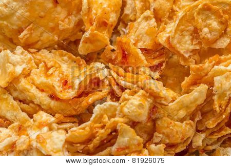 Sweet and spicy indonesian snack emping blado poster