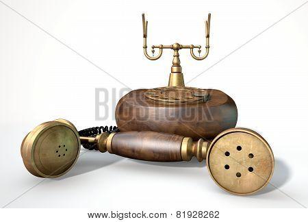 Vintage Telephone Off The Hook