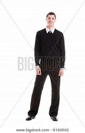 Handsome Man In Formal Clothes