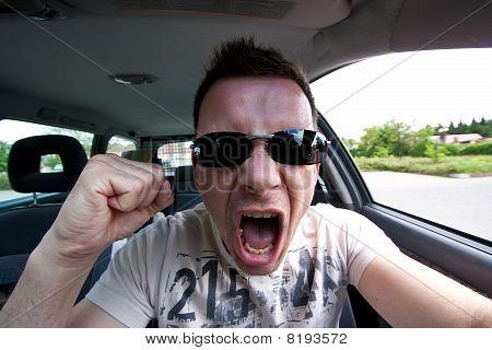 aggressive car drivers