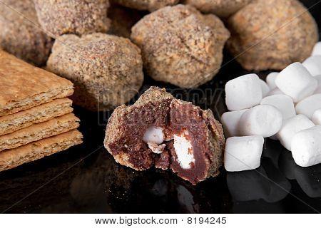 Smores Truffles