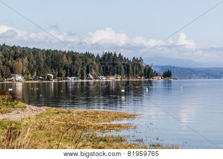 Town in Hood Canal