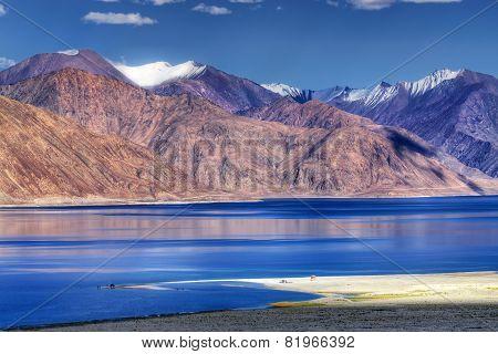 Pangong Tso (lake), Leh, Ladakh, Jammu And Kashmir, India