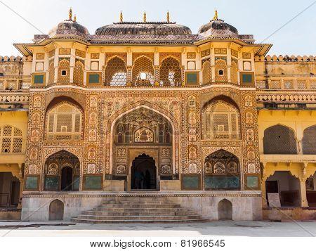 Ganesh Pol At Amber Palace