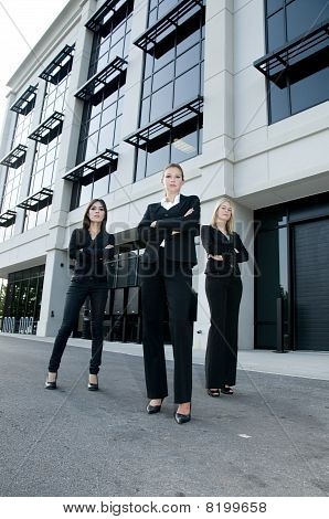 Team Of Businesswomen