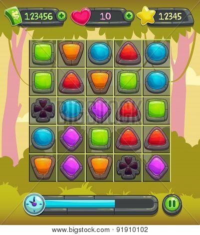 Game Interface Screen