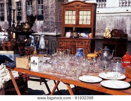 Market Stall, Bruges.
