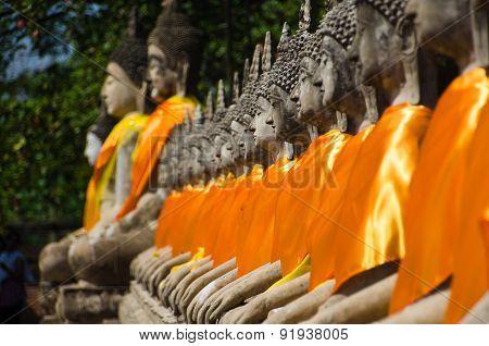 Buddhas Of Ayutthaya