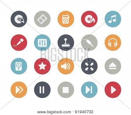 Media Player Icons // Classics Series