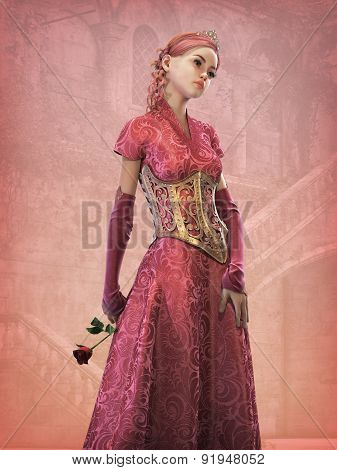 Fairytale Princess, 3D Cg