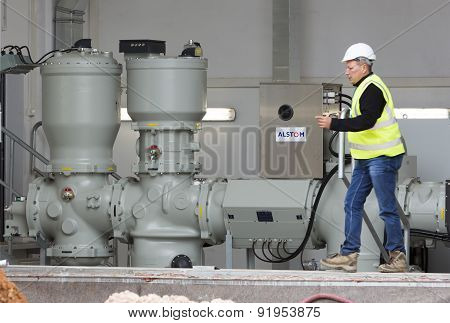 Waste Plant High Voltage Back Up Diesel Power Generator