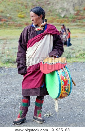 Nomadic People In Dolpo, Nepal