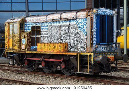 NS Class 600 diesel shunting locomotive