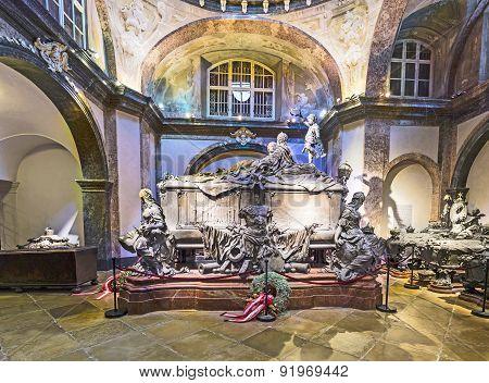Crypt Of The Habsburger Kings In Vienna
