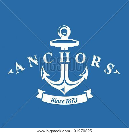 Nautical Anchor Background
