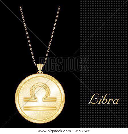 Libra Medallion