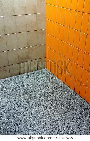 Bathroom Funky Corner
