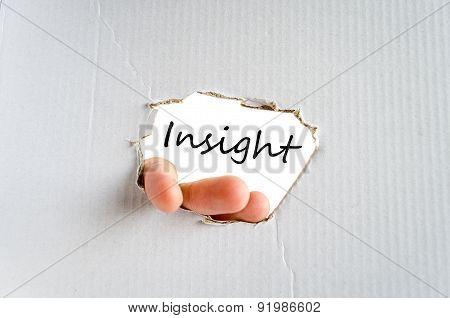 Insight Concept