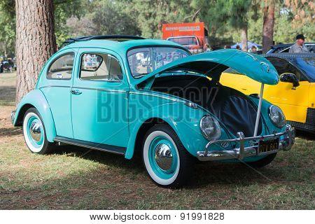 Volkswagen Beetle Sunroof On Display