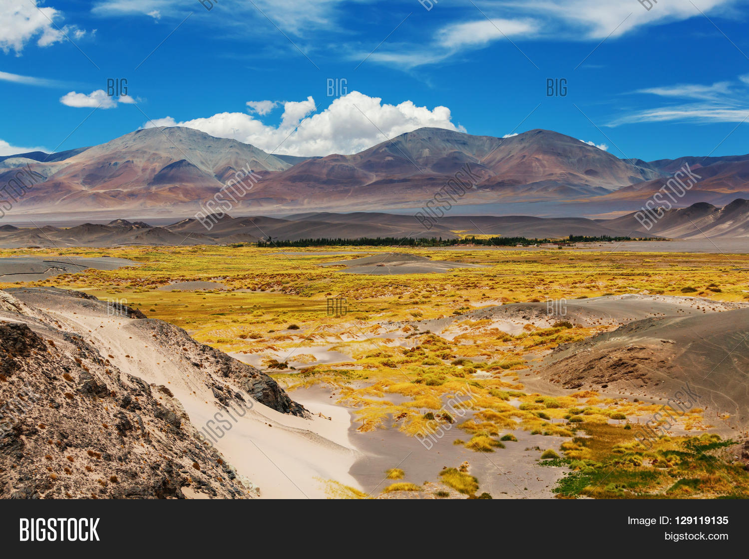 Scenic landscapes of Northern Argentina